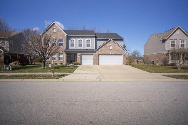 5820 Kenwood Way, Plainfield, IN 46168 (MLS #21700257) :: The Evelo Team