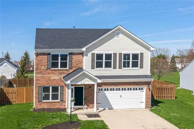 9706 Bruddy Drive, Fishers, IN 46038 (MLS #21701218) :: Heard Real Estate Team | eXp Realty, LLC