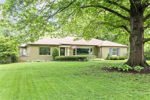7233 N Illinois Street, Indianapolis, IN 46260 (MLS #21702050) :: David Brenton's Team