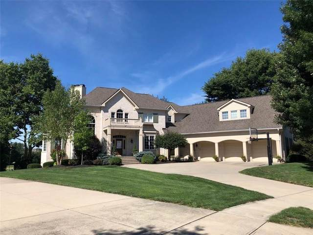 12121 Talon Trace, Fishers, IN 46037 (MLS #21702310) :: Anthony Robinson & AMR Real Estate Group LLC