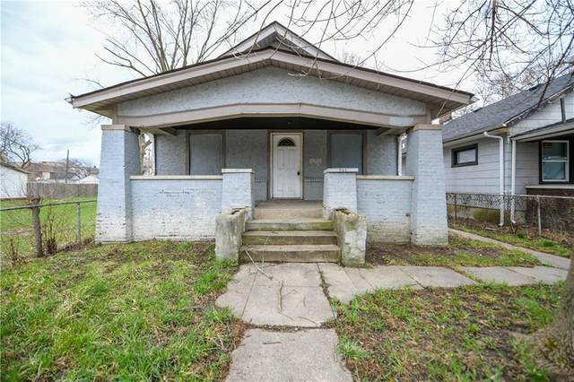 921 N Parker Avenue, Indianapolis, IN 46201 (MLS #21702376) :: The Indy Property Source