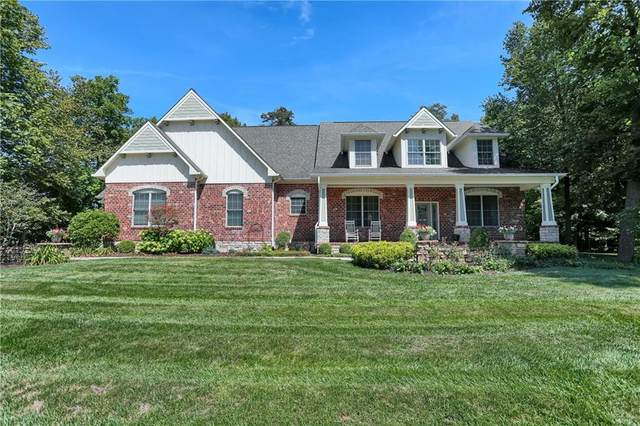 154 Hidden Glen Drive, Greenfield, IN 46140 (MLS #21703107) :: Richwine Elite Group