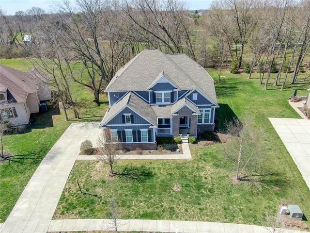 16827 Maines Valley Drive, Noblesville, IN 46062 (MLS #21703140) :: David Brenton's Team
