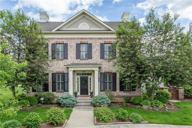 6693 Chapel Crossing, Zionsville, IN 46077 (MLS #21703973) :: The Evelo Team