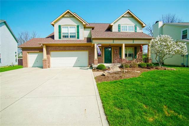 448 Autumn Springs Drive, Avon, IN 46123 (MLS #21704138) :: The Evelo Team