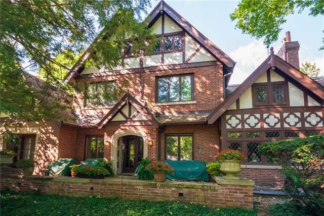1021 Van Buskirk Road, Anderson, IN 46011 (MLS #21704830) :: The ORR Home Selling Team