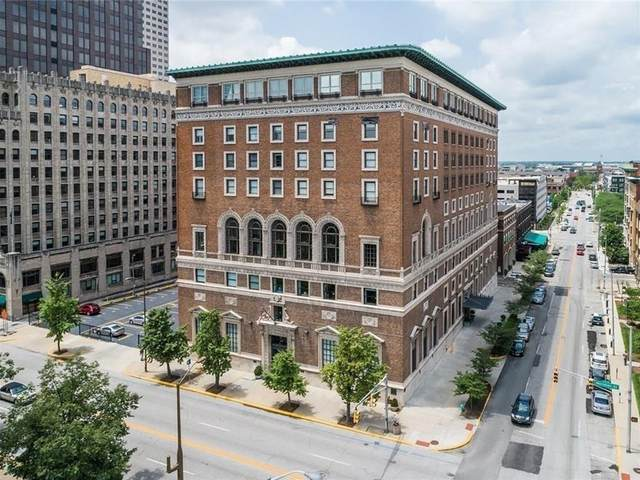 350 N Meridian Street #402, Indianapolis, IN 46204 (MLS #21705366) :: AR/haus Group Realty