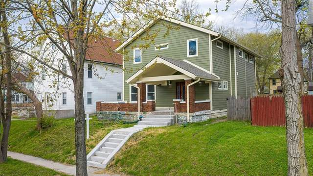 1129 Jefferson Avenue, Indianapolis, IN 46201 (MLS #21705567) :: Mike Price Realty Team - RE/MAX Centerstone