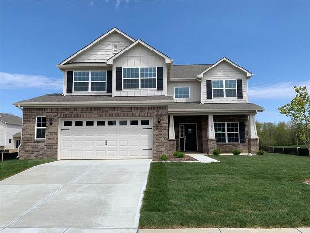 16568 Winter Meadow Drive, Fishers, IN 46040 (MLS #21706448) :: David Brenton's Team