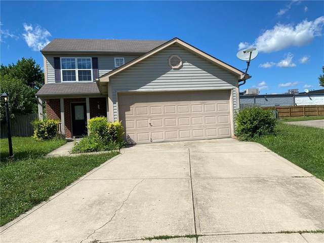 1356 Summer Meadow Court, Indianapolis, IN 46217 (MLS #21706759) :: Anthony Robinson & AMR Real Estate Group LLC