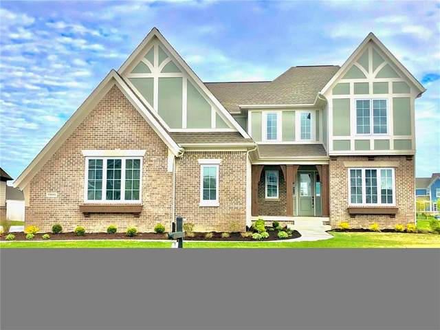 10680 Sunbeam Circle, Fishers, IN 46038 (MLS #21707706) :: Anthony Robinson & AMR Real Estate Group LLC