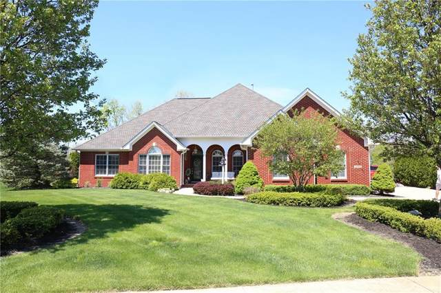 6154 W Richman Drive, New Palestine, IN 46163 (MLS #21708548) :: The Indy Property Source