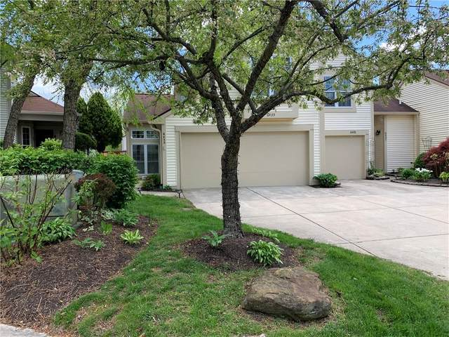 6435 Bay Vista Court, Indianapolis, IN 46250 (MLS #21708946) :: The ORR Home Selling Team