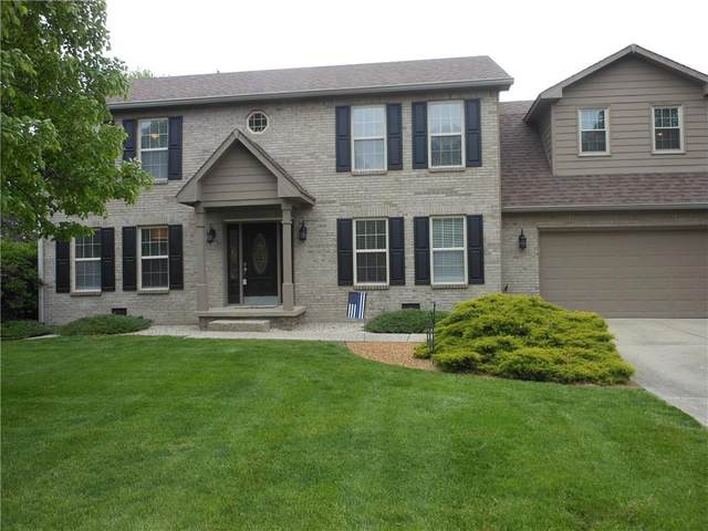 1960 Red Oak Drive, Franklin, IN 46131 (MLS #21709340) :: Mike Price Realty Team - RE/MAX Centerstone