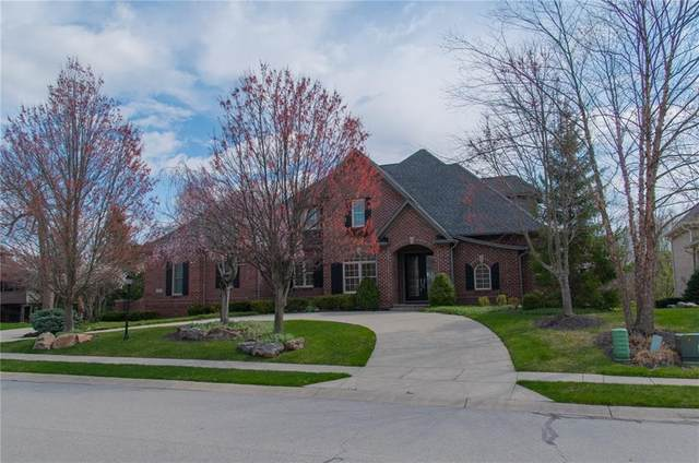 16577 Brookhollow Drive, Westfield, IN 46062 (MLS #21709551) :: The Indy Property Source