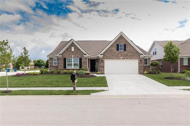 9673 Rocky Shore Drive, Fishers, IN 46055 (MLS #21710871) :: The Indy Property Source