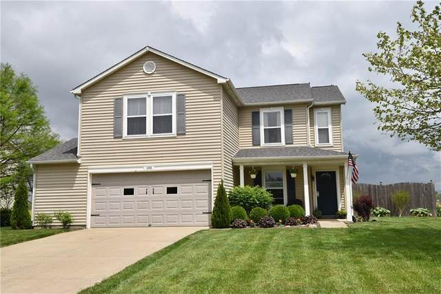 1248 King Maple Drive, Greenfield, IN 46140 (MLS #21710947) :: The Indy Property Source