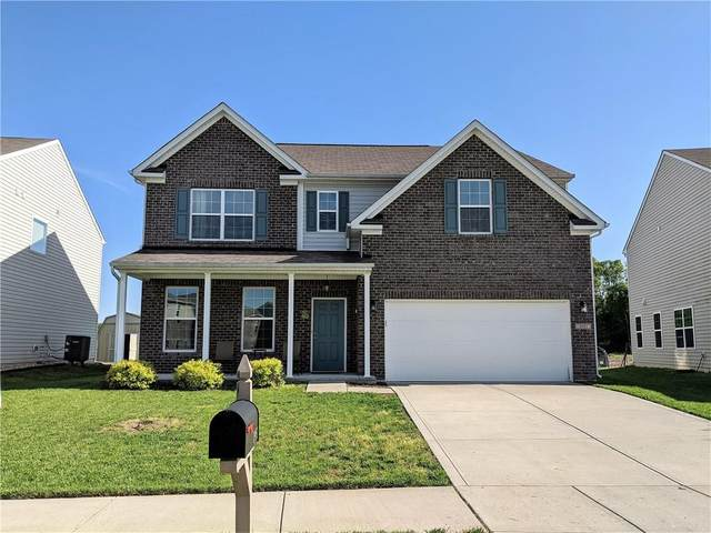 1951 Creek Bank Drive, Columbus, IN 47203 (MLS #21711529) :: The Indy Property Source
