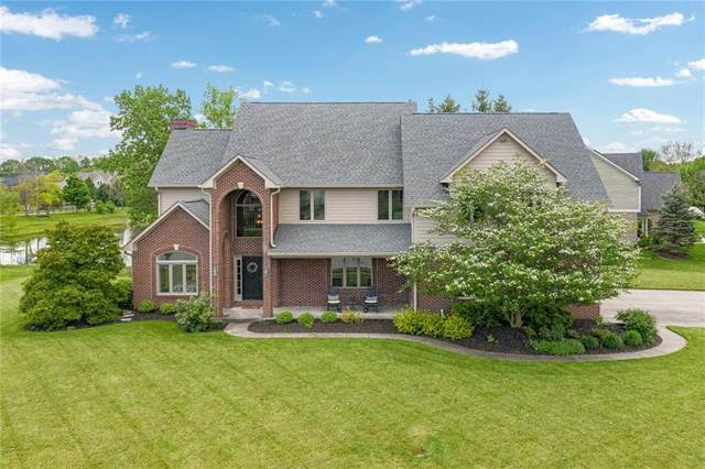 4399 Summer Drive, Zionsville, IN 46077 (MLS #21711595) :: The Indy Property Source
