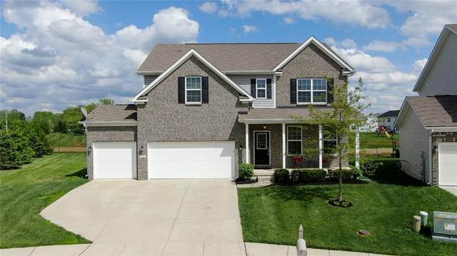 7711 Eagle Point Circle, Zionsville, IN 46077 (MLS #21711705) :: The Indy Property Source