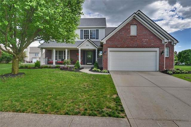 874 Stockbridge Drive, Westfield, IN 46074 (MLS #21711869) :: The Indy Property Source