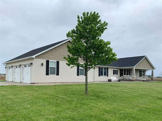4844 N County Road 250 E, Pittsboro, IN 46167 (MLS #21711895) :: The Indy Property Source