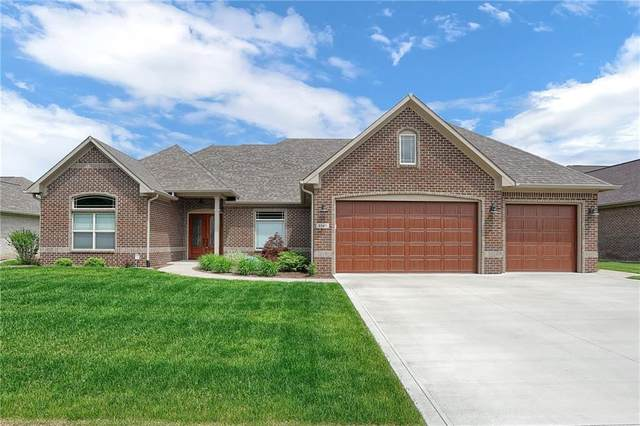 3347 Guilford Lane, Plainfield, IN 46168 (MLS #21711975) :: The Evelo Team