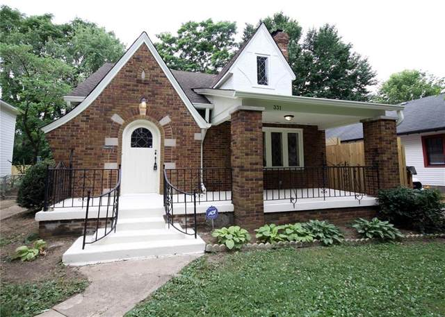 331 W 44TH Street, Indianapolis, IN 46208 (MLS #21712155) :: The Indy Property Source