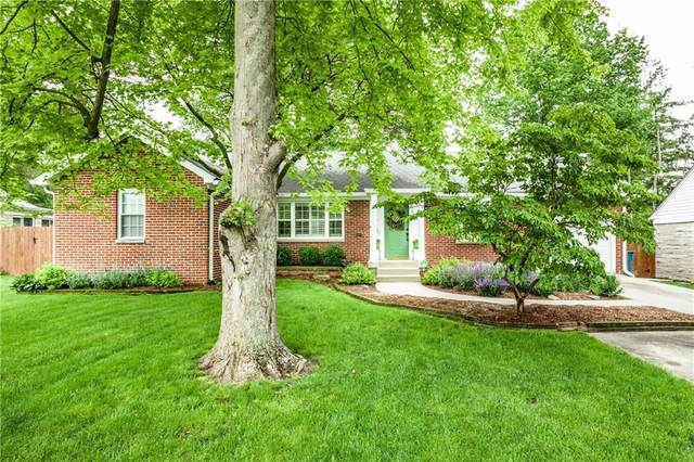 6047 N Meridian Street, Indianapolis, IN 46208 (MLS #21712237) :: The Indy Property Source