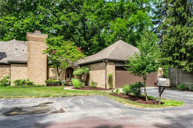8580 Tree Top Drive, Indianapolis, IN 46260 (MLS #21714778) :: Anthony Robinson & AMR Real Estate Group LLC