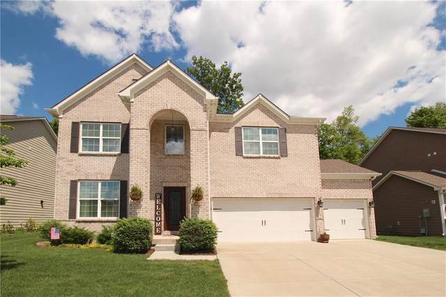 713 Bracknell Drive, Avon, IN 46123 (MLS #21715146) :: The Indy Property Source