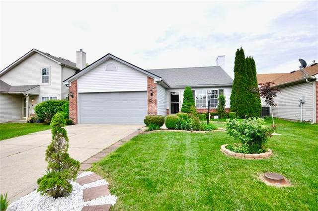4017 Waterfield Drive, Indianapolis, IN 46235 (MLS #21715770) :: The Indy Property Source