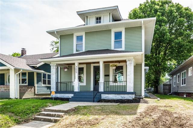 4229 N Carrollton Avenue, Indianapolis, IN 46205 (MLS #21716084) :: Anthony Robinson & AMR Real Estate Group LLC