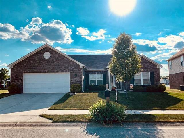 3428 S Bennett Drive, New Palestine, IN 46163 (MLS #21718341) :: The Indy Property Source