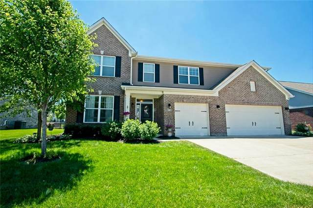 5571 W Stream Dr, Mccordsville, IN 46055 (MLS #21718411) :: The Indy Property Source