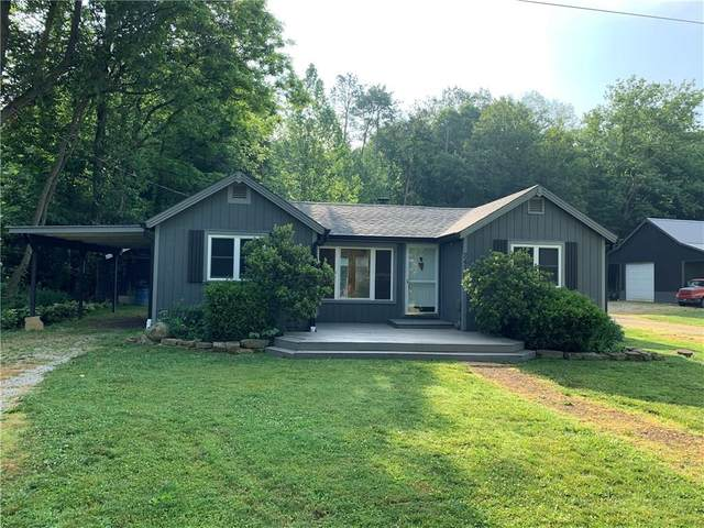 2415 Greasy Creek Road, Nashville, IN 47448 (MLS #21720052) :: The Indy Property Source