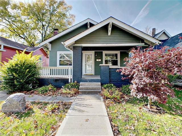 336 N Euclid Avenue, Indianapolis, IN 46201 (MLS #21720412) :: Anthony Robinson & AMR Real Estate Group LLC
