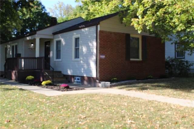 4507 E 19th Street, Indianapolis, IN 46218 (MLS #21721472) :: The Evelo Team