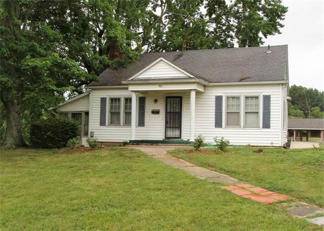 222 W Walnut Street, North Vernon, IN 47265 (MLS #21721707) :: The Indy Property Source