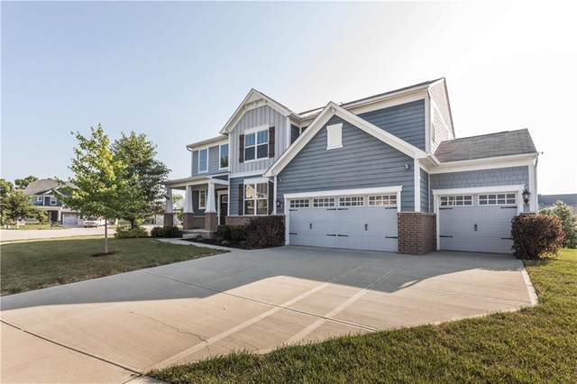 14268 Excalibur Way, Fishers, IN 46037 (MLS #21722318) :: David Brenton's Team