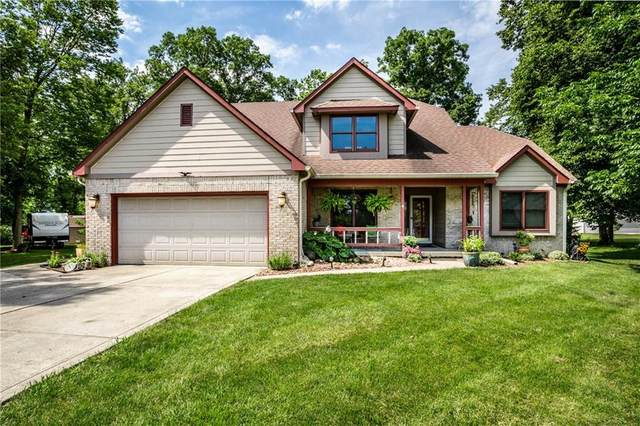3722 S Stony Ridge Court, New Palestine, IN 46163 (MLS #21722390) :: Anthony Robinson & AMR Real Estate Group LLC