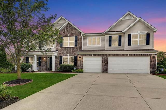 10804 Kaplan Court, Fishers, IN 46038 (MLS #21722851) :: The Indy Property Source