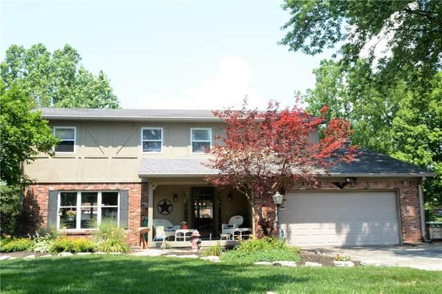 11632 Indian Creek Road, Indianapolis, IN 46236 (MLS #21723220) :: David Brenton's Team