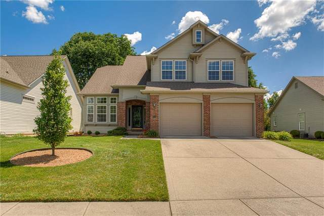 9769 Innisbrook Boulevard, Carmel, IN 46032 (MLS #21723418) :: Anthony Robinson & AMR Real Estate Group LLC