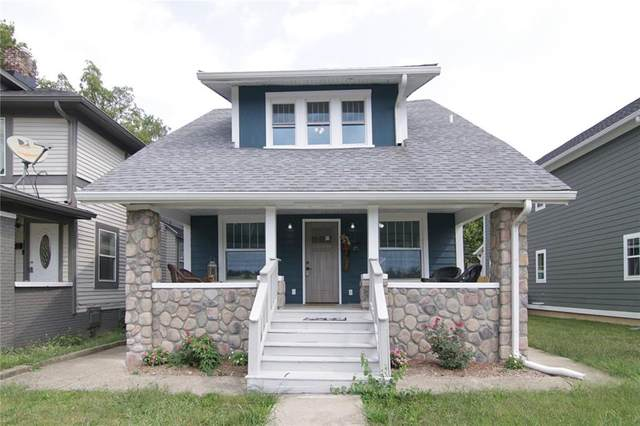 2915 N Talbott Street, Indianapolis, IN 46205 (MLS #21723857) :: The Evelo Team