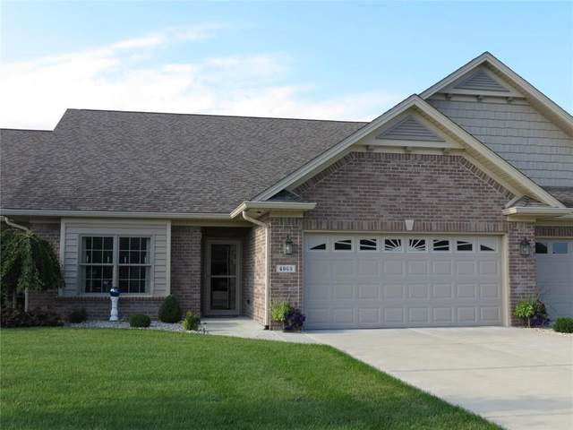 4963 Delray Drive, Columbus, IN 47203 (MLS #21723867) :: David Brenton's Team