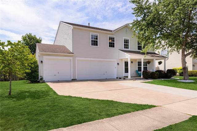 10605 Harlowe Drive, Fishers, IN 46038 (MLS #21726538) :: Mike Price Realty Team - RE/MAX Centerstone