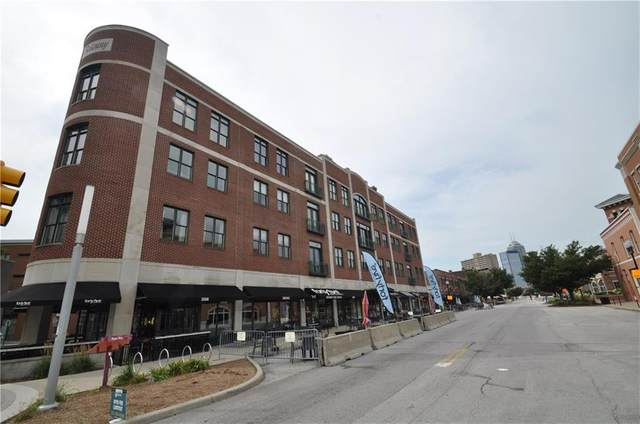 757 Massachusetts Avenue #204, Indianapolis, IN 46204 (MLS #21727695) :: The Evelo Team