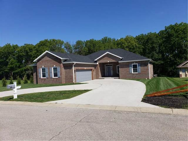 1432 W Weatherby Court, Greensburg, IN 47240 (MLS #21727748) :: Richwine Elite Group