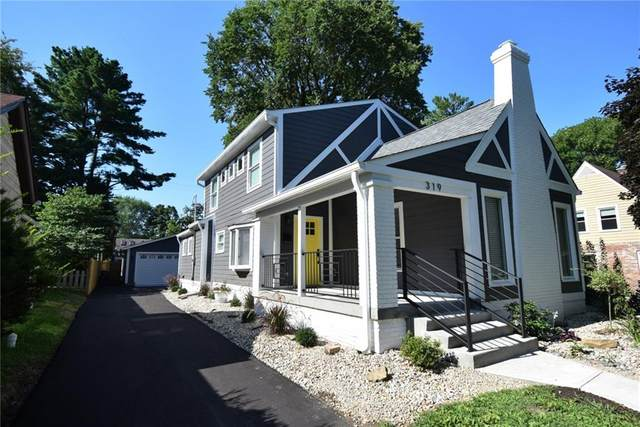 319 W 46th Street, Indianapolis, IN 46208 (MLS #21728393) :: Anthony Robinson & AMR Real Estate Group LLC
